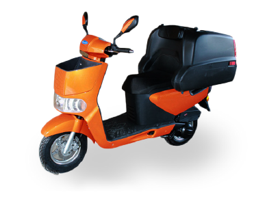 tonelli-food-delivery-scooter-orange